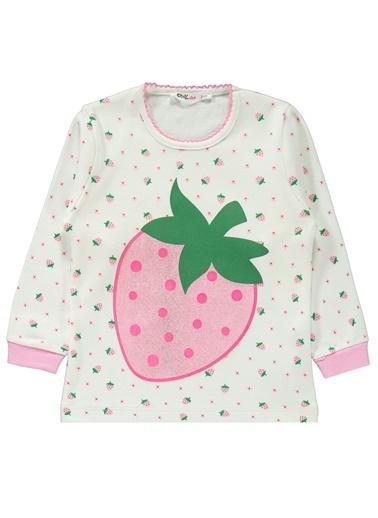 Civil Girls Kız Çocuk Pijama Takım Ekru